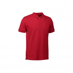 ID - Stretch poloshirt, 0525 - Rød