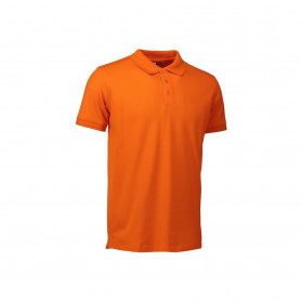 ID - Stretch poloshirt, 0525 - Orange