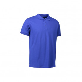 ID - Stretch poloshirt, 0525 - Kongeblå