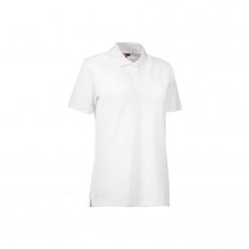 ID - Stretch poloshirt | dame, 0527 - Hvid