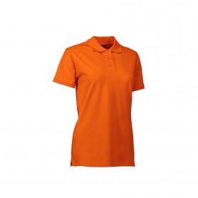ID - Stretch poloshirt | dame, 0527 - Orange