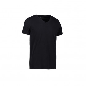 ID - CORE V-neck tee, 0542 - Sort