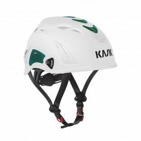 86003402 KASK SIKKERHEDSHJELM, Plasma - Hvid/Grøn Hi-Viz