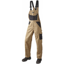 OUTLET - Arbejds Overall, SUPER COLOUR, 9207 - Khaki/Sort