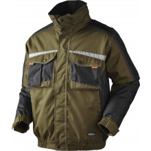 OUTLET - JAK - Pilotjakke, SUPER COLOUR, 9231 - Army/Sort