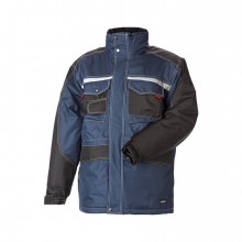 OUTLET - Parka, 9232 - Petrol/Sort